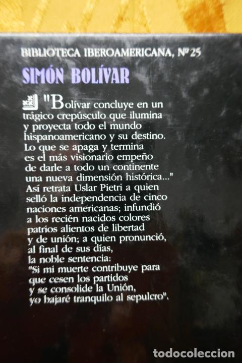 Libros de segunda mano: SIMÓN BOLIVAR, EL LIBERTADOR DEMETRIO RAMOS PÉREZ - ANAYA - Foto 17 - 288547908