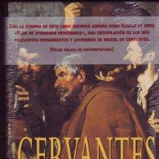 Libros de segunda mano: CERVANTES, LA NOVELA DE UN GENIO DE BRUNO FRANK. ED. EDHASA. BARCELONA , 1995.. Lote 289699893