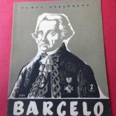 Libros de segunda mano: BARCELO. ENRIQUE CORMA. TEMAS ESPAÑOLES. 1956. 29 PÁGINAS.. Lote 289835028