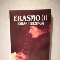 Libros de segunda mano: 2 TOMOS ERASMO - BIOGRAFIAS - JOHAN HUIZINGA - BIBLIOTECA SALVAT DE GRANDES. Lote 293690583