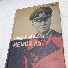 Libros de segunda mano: ERWING ROMMEL. MEMORIAS. MEMORIAS DE GUERRA. Lote 293864213