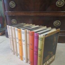 """Libros de segunda mano: COLECCION """"BIOGRAFIAS GANDESA""""...PERSONAJES DE LA HISTORIA. Lote 293893933"""