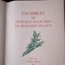 Libros de segunda mano: MENENDEZ PELAYO. Lote 293995923