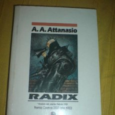 Libros de segunda mano: NOVA CIENCIA FICCION RADIX ATTANASIO. Lote 10503715