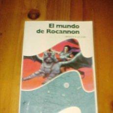 Livres d'occasion: EL MUNDO DE ROCANNON. URSULA K. LE GUIN. 1ª EDICION. COLECCION NOVA CIENCIA FICCION.. Lote 9868952