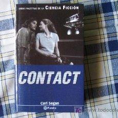 Libros de segunda mano: CONTACT (DE CARL SAGAN ) ¡BUEN ESTADO! CIENCIA FICCION EDITORIAL PLANETA. Lote 21467065