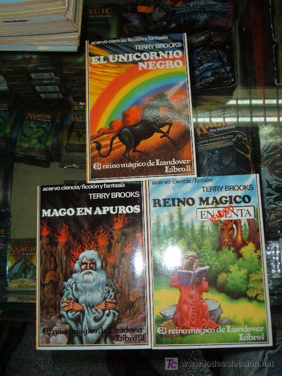 EL REINO MAGICO DE LANDOVER ¡TRILOGIA COMPLETA! 1ª EDICION ACERVO CIENCIA FICCION/FANTASIA (Libros de Segunda Mano (posteriores a 1936) - Literatura - Narrativa - Ciencia Ficción y Fantasía)