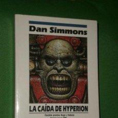 Libros de segunda mano: CIENCIA FICCIÓN NOVA.- LA CAÍDA DE HYPERION.. Lote 16127014