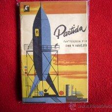Libros de segunda mano: PARTIDA. CYRIL M. KORNBLUTH. FANTACIENCIA. 1956. 1ª ED. BUENOS AIRES. Lote 26267643