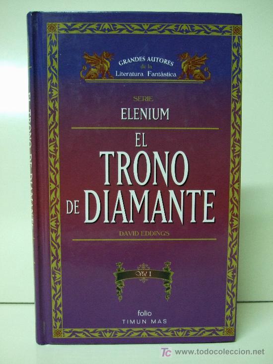 Libros de segunda mano: ELENIUM - EL TRONO DE DIAMANTE VOL. 1 Y VOL. 2 - DAVID EDDINGS - TIMUN MAS FOLIO - Foto 2 - 26102785