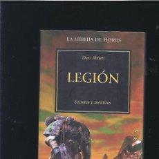 Libros de segunda mano: WARHAMMER LEGION. Lote 20085395