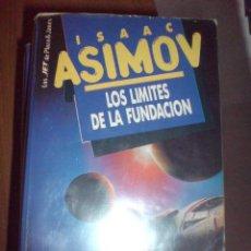 Libros de segunda mano: ISAAC ASIMOV JET PLAZA JANES LOS LIMITES DE LA FUNDACION. Lote 20770287