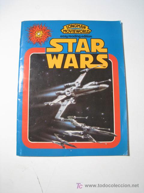 Libros de segunda mano: STAR WARS - EASY READING EDITION - LONGMAN 1981 - Foto 1 - 21030052