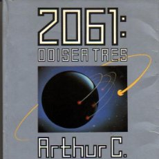 Libros de segunda mano: ARTHUR C. CLARKE. 2061: ODISEA TRES. BARCELONA. 1989.. Lote 26697043