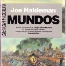 Libros de segunda mano: MUNDOS.JOE HALDEMAN. Lote 25683100