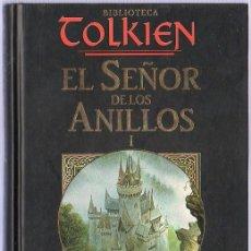 Libros de segunda mano: EL SEÑOR DE LOS ANILLOS I. LA COMUNIDAD DEL ANILLO. PRIMERA Y SEGUNDA PARTE. TOLKIEN. . 2002.. Lote 21509457