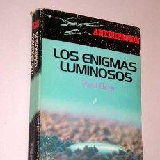 Libros de segunda mano: LOS ENIGMAS LUMINOSOS. PAUL BARA. LIBRO EXPRES, COLECCIÓN ANTICIPACIÓN, 1978. FLEUVE NOIR. Lote 24404177