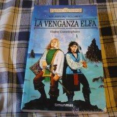 Libros de segunda mano: LA VENGANZA ELFA LOS ARPISTAS ¡MUY BUEN ESTADO! REINOS OLVIDADOS TIMUN MAS FANTASIA. Lote 22387017