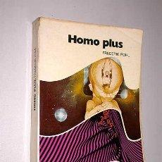 Libros de segunda mano: HOMO PLUS. FREDERICK POHL. COLECCIÓN NOVA CIENCIA FICCIÓN Nº 5. BRUGUERA 1976. CONQUISTA DE MARTE.. Lote 24295739