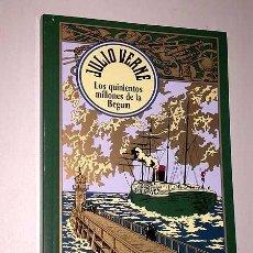 Libros de segunda mano: LOS QUINIENTOS MILLONES DE LA BEGUM. JULIO VERNE. RBA 2004. ED. ESPECIAL CENTENARIO. ILUSTRADA.. Lote 231326260