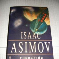 Libros de segunda mano: ISAAC ASIMOV - FUNDACION Y TIERRA. Lote 24708569