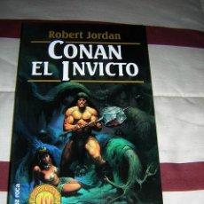Libros de segunda mano: CONAN EL INVICTO - ROBERT JORDAN - NUEVO. Lote 34697836