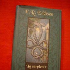 Libros de segunda mano: E. R. EDDISON: LA SERPIENTE UROBOROS. Lote 25934762