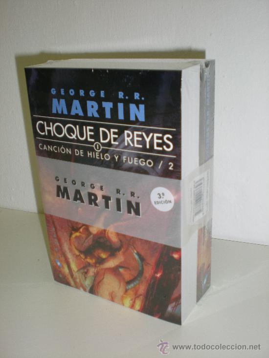 CHOQUE DE REYES - EDICION BOLSILLO - CANCION DE HIELO Y FUEGO PARTE 2 - GEORGE R R MARTIN (Libros de Segunda Mano (posteriores a 1936) - Literatura - Narrativa - Ciencia Ficción y Fantasía)