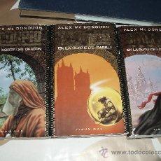 Libros de segunda mano: SCORPIO 3 NOVELAS TIMUN MAS. Lote 27072234