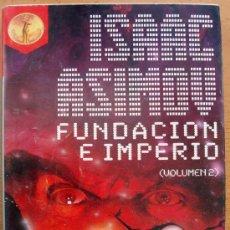 Libros de segunda mano: LIBRO DE ISAAC ASIMOV, FUNDACION E IMPERIO, PLAZA JANES, 1986. Lote 27634185