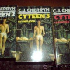 Libros de segunda mano: NOVA CIENCIA FICCION TRILOGIA CYTEEN CHERRYH. Lote 29550072