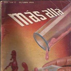 Libros de segunda mano: CIENCIA FICCION-MAS ALLA-VOL. 2 NUM. 17-OCTUBRE 1954-REVISTA PULP. Lote 28701746