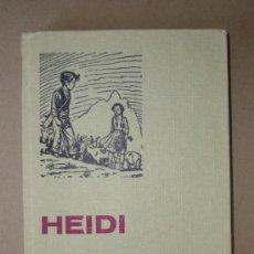 Libros de segunda mano: LIBRO. HEIDI. Lote 28706846
