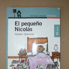 Libros de segunda mano: LIBRO. EL PEQUEÑO NICOLÁS. Lote 28706896