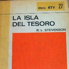 Libros de segunda mano: LIBRO LA ISLA DEL TESORO, R.L. STEVENSON EDITORIAL SALVAT. Lote 28981117