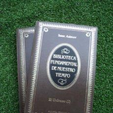 Libros de segunda mano: EL UNIVERSO (2 TOMOS) ISAAC ASIMOV. EDITORIAL: ALIANZA EDITORIAL. 1984. 216 + 206 PÁGINAS. . Lote 31924851