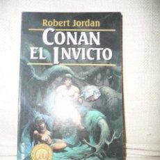CONAN EL INVICTO. ROBERT JORDAN. MARTÍNEZ ROCA