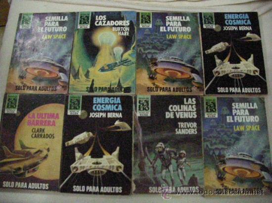 LOTE DE NOVELAS CIENCIA FICCION ESPACIO (CE12) (Libros de Segunda Mano (posteriores a 1936) - Literatura - Narrativa - Ciencia Ficción y Fantasía)