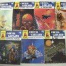 Libros de segunda mano: LOTE DE NOVELAS CIENCIA FICCION CURTIS GARLAND (CE12). Lote 30022391