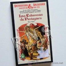 Libros de segunda mano: LAS COLUMNAS DE PENTEGARN - DUNGEONS & DRAGONS LIBRO JUEGO AVENTURA CIENCIA FICCIÓN 3 TIMUN MAS. Lote 30028496