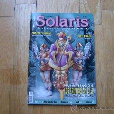 Libros de segunda mano: REVISTA SOLARIS Nº 19 - GUÍA BIMESTRAL DE LITERATURA FANTÁSTICA - LA FACTORÍA - ROL. Lote 30108525