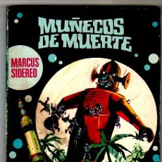 Libros de segunda mano: LA CONQUISTA DEL ESPACIO Nº 10 - C FICCION EDI. BRUGUERA 1970 - MARCUS SIDEREO -MUÑECOS DE MUERTE. Lote 30684515