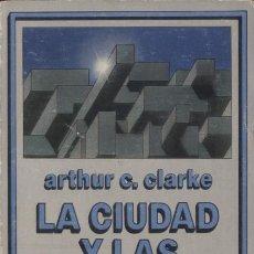 Libros de segunda mano: NOVELA LA CIUDAD Y LAS ESTRELLAS - ARTHUR C. CLARKE; NEBULAE, EDHASA CIENCIA FICCION. Lote 31376098