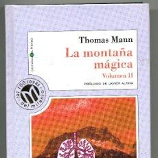 Libros de segunda mano: LA MONTAÑA MAGICA V II - THOMAS MANN. Lote 31595659
