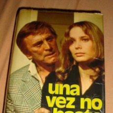 Libros de segunda mano: LIBRO DE JACQUELINE SUSANN, UNA VEZ NO BASTA-1976-¡OFERTA MAS DE DOS LIBROS DESCUENTO 20%!. Lote 31657420