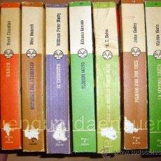 Libros de segunda mano: LOTE DE 9 LIBROS P&J AÑOS 70, COL. MANANTIAL-LA SALAMANDRA-BANCO-LOS COSACOS-EL EXORCISTA-PELHAM . Lote 31672403