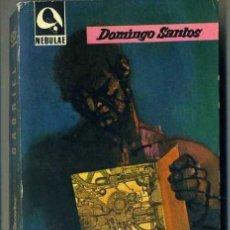 Libros de segunda mano: DOMINGO SANTOS : GABRIEL, HISTORIA DE UN ROBOT (NEBULAE, 1962) . Lote 31759265