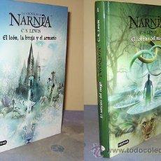 Libros de segunda mano: CRONICAS DE NARNIA - EL SOBRINO DEL MAGO + EL LEON, LA BRUJA Y EL ARMARIO - DESTINO. Lote 31194387