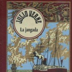 Libros de segunda mano: NOVELA LA JANGADA - JULIO VERNE (COLECCION RBA). Lote 32323046