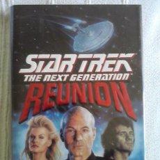 Libros de segunda mano: STAR TREK THE NEXT GENERATION: REUNION (TAPA DURA EN INGLES). Lote 32646812